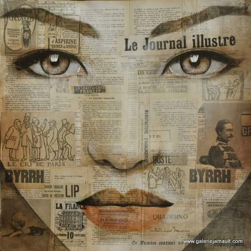 Pauline Gagnon journal50x050papier